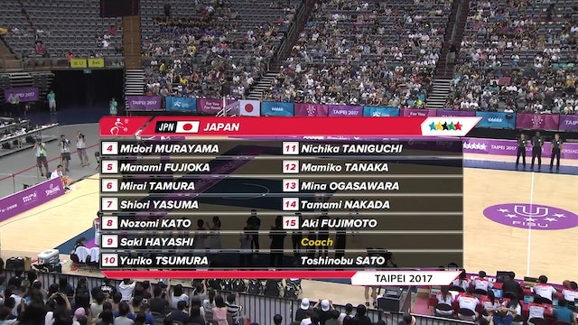 Basketball: Women's SF2 JPN vs RUS