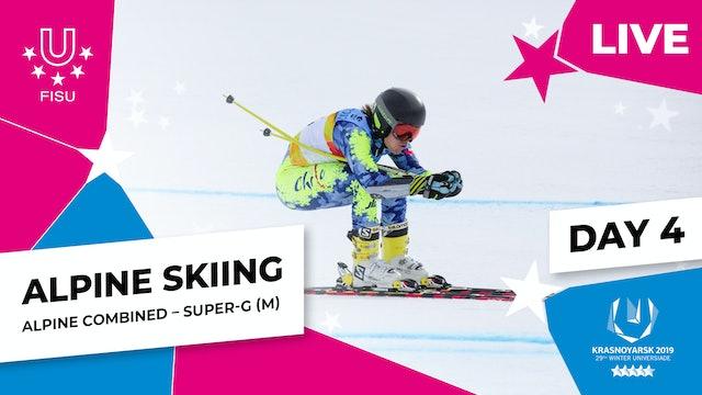 Alpine Skiing | Men's Combined Super-G |Winter Universiade 2019