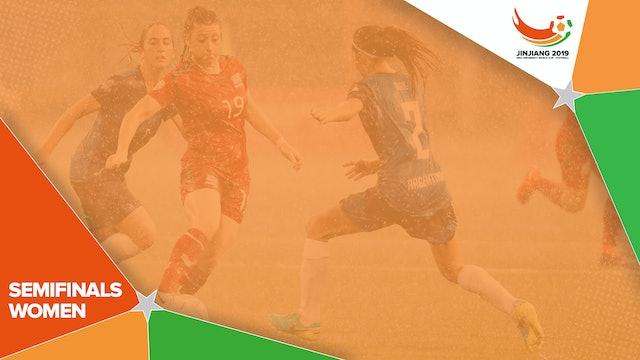 Women's Semifinal 1 | #UniFootball