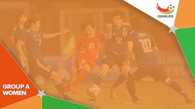W1: Beijing Normal U (CHN) vs. Paulista U (BRA)