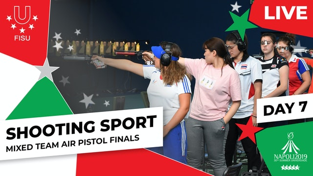 Shooting Sport | Mixed Team Air Pistol Finals | Summer Universiade 2019