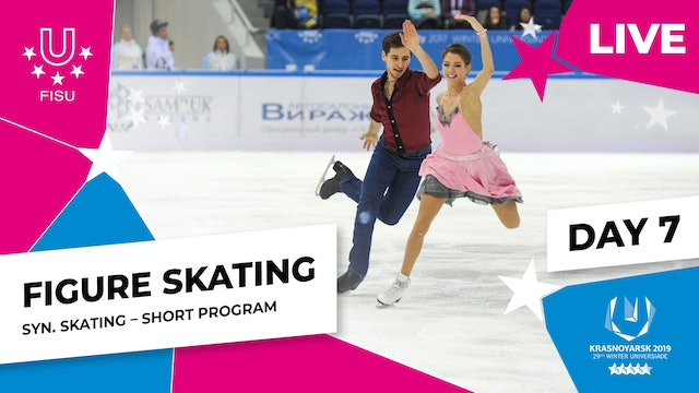 Figure Skating | Synchro Short Program | Winter Universiade 2019