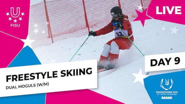 Freestyle Skiing | Dual Moguls | Winter Universiade 2019