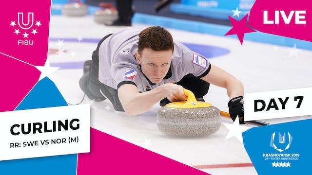 Curling | Men's Round Robin – SWE vs NOR