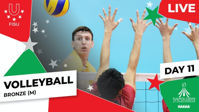 Volleyball   Bronze (M)  Summer Universiade 2019
