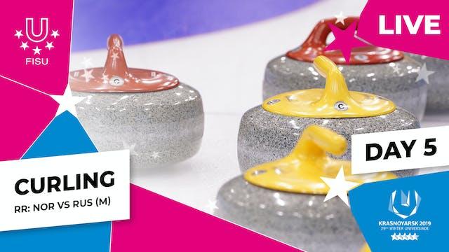 Curling | Men's Round Robin – NOR vs RUS