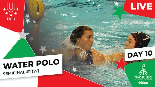 Water Polo | Semifinal #1 (W) | Summe...