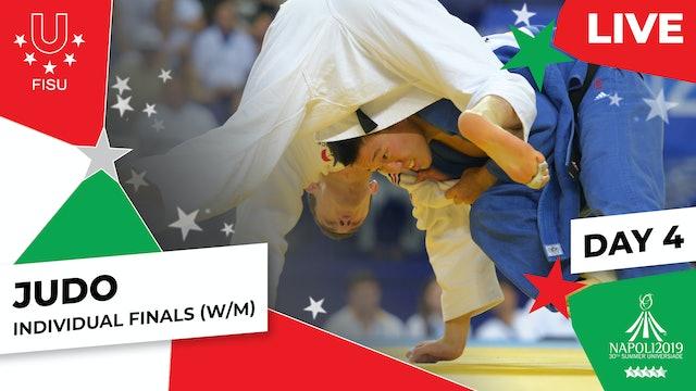 Judo |Day 4 Individual Finals (W/M) |Summer Universiade 2019
