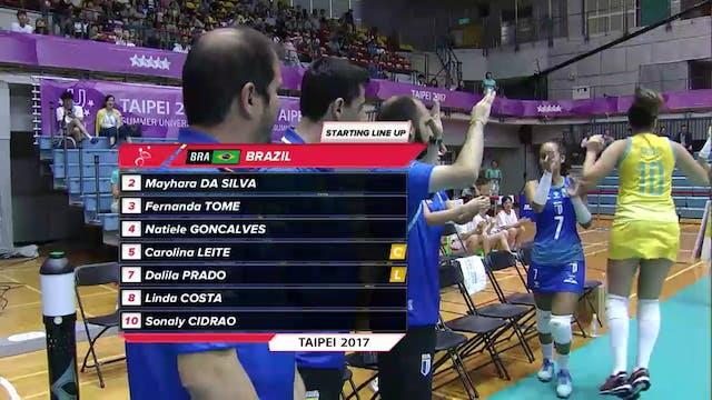 Volleyball: RUS vs BRA (W24)