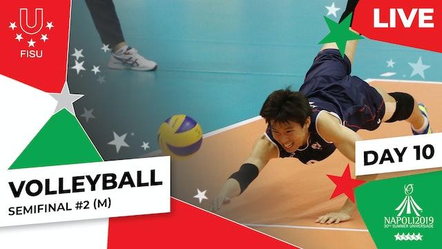Volleyball | Semifinal #2 (M) |Summer Universiade 2019