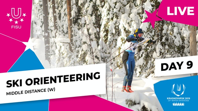 Ski Orienteering | Women's Middle Distance |Winter Universiade 2019