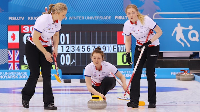 Curling Round Robin | Krasnoyarsk 2019 Winter Universiade | #RealWinter