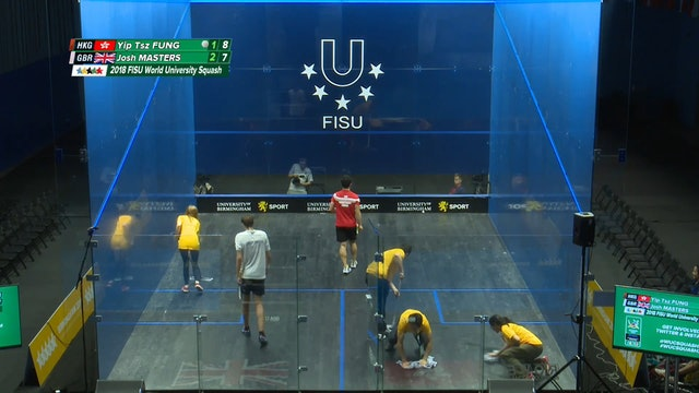 SQUASH - Team Semi-Finals - 2018 World University Champion