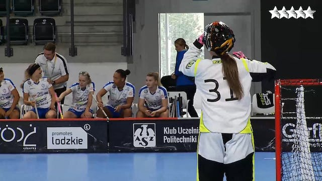 Floorball – Women Final - Czech Repub...