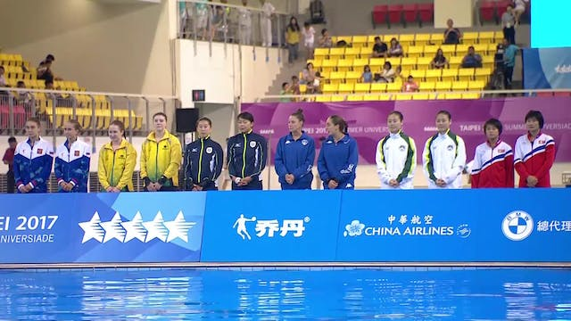 Diving: 10m Synchronised W Final