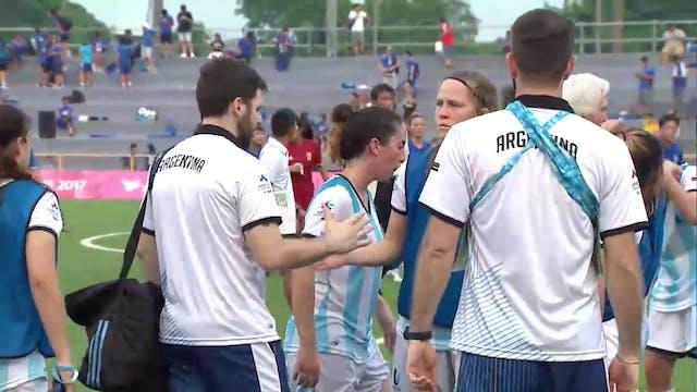 Football W: TPE vs ARG (W1)