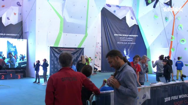 Climbing - Lead Final - FISU World Un...