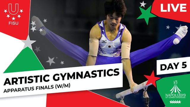 Artistic Gymnastics | Apparatus Final...