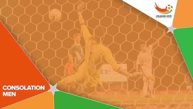 Men's Consolation Round – B4 vs. C4 | #UniFootball