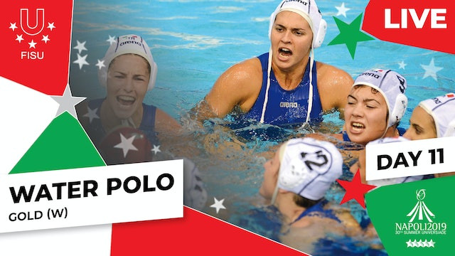 Water Polo   Gold (W)  Summer Universiade 2019
