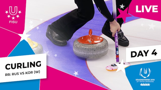 Curling | Women's Round Robin – RUS vs KOR