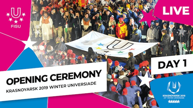 Opening Ceremony | Winter Universiade 2019