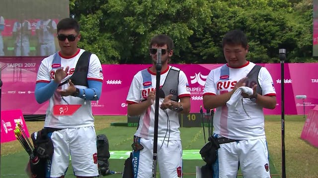 Archery: Recurve Team Finals