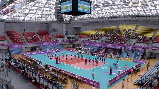 Volleyball: Men's QF1 IRI vs CZE