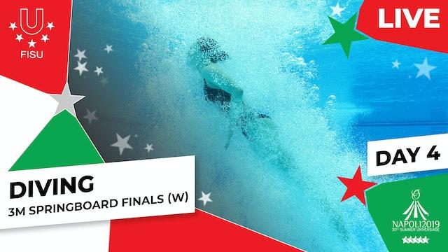 Diving | 3m Springboard Finals (W) |Summer Universiade 2019