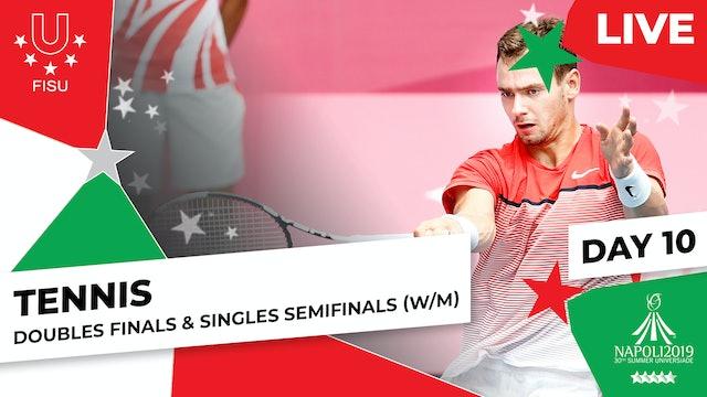 Tennis | Doubles Finals (W/M) & Singles Semis (W/M) |Summer Universiade 2019