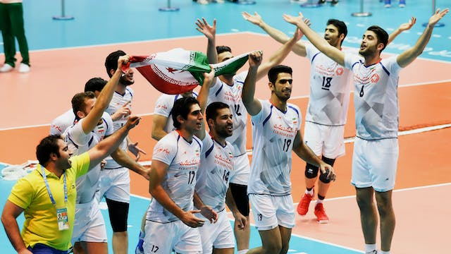 IRI vs. UKR (Men's Volleyball Semifin...