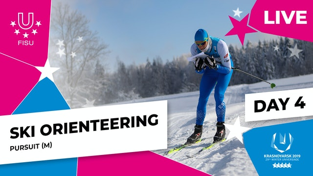Ski Orienteering | Men's Pursuit | Winter Universiade 2019