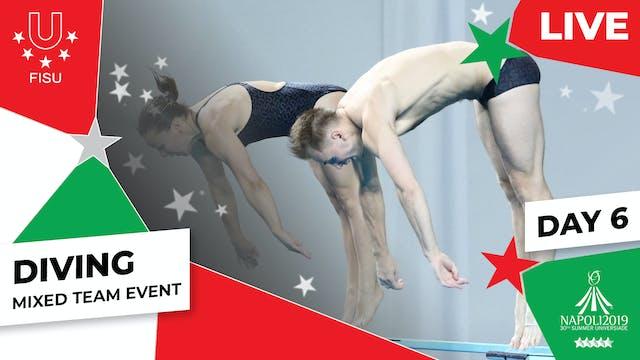 Diving | Mixed Team Event |Summer Un...