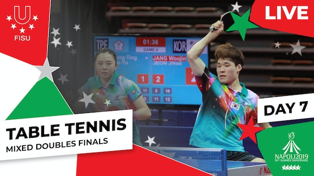 Table Tennis | Mixed Doubles Finals | Summer Universiade 2019