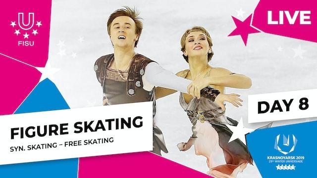 Figure Skating |Synchro Free Skating | Winter Universiade 2019