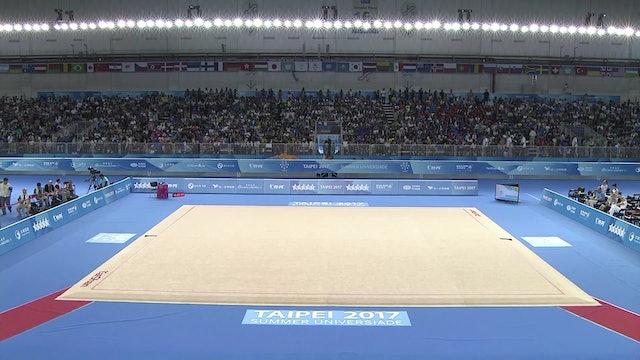 Rhythmic Gymnastics: Individual Finals