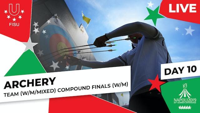 Archery | Team (W/M) & Mixed Team Compound Finals |Summer Universiade 2019
