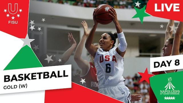 Basketball |Gold (W) |Summer Universiade 2019