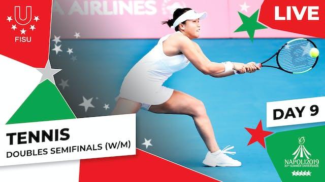 Tennis | Doubles Semifinals (W/M) |S...