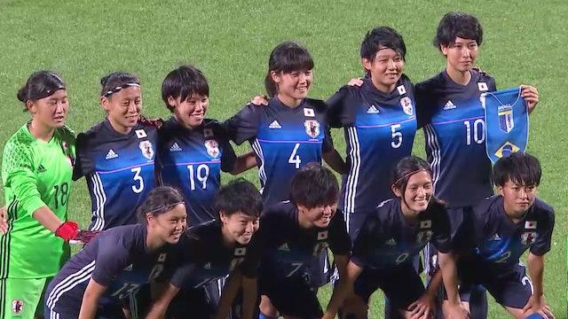 Football: Women's Final JPN vs BRA