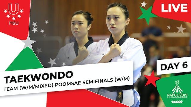 Taekwondo | Team (W/M/Mixed) Poomsae ...