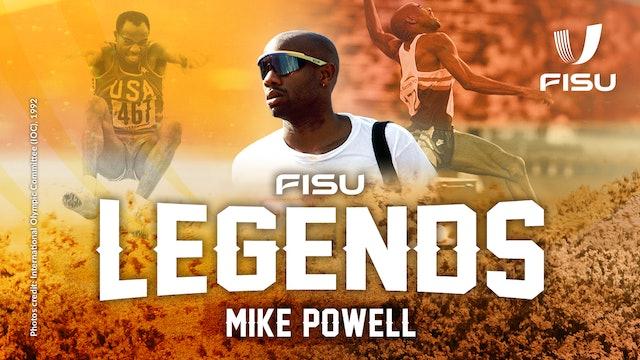 FISU Legends Interview | American Long-Jumper Mike Powell