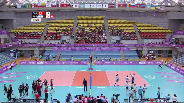 Volleyball: CAN vs ARG (W20)
