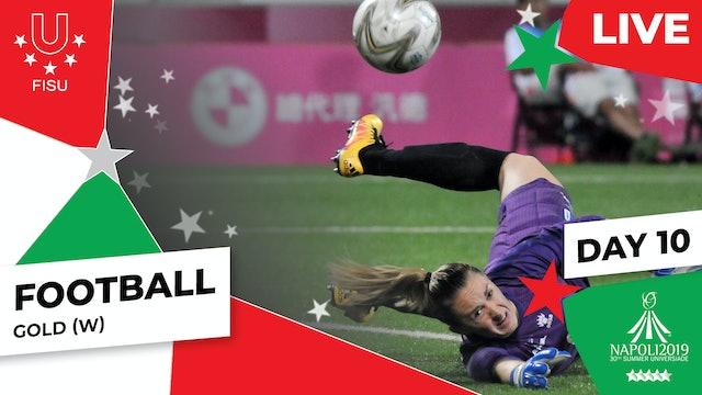 Football |Gold (W) |Summer Universiade 2019