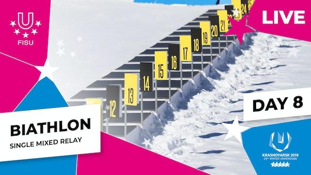Biathlon | Single Mixed Relay | Winter Universiade 2019