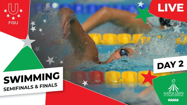 Swimming | Day 2 Semifinals & Finals ...