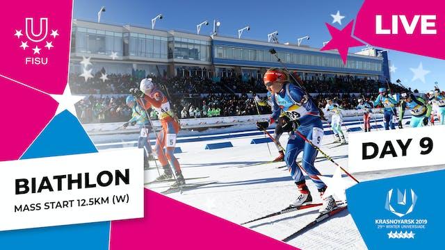 Biathlon | Women's Mass Start 12.5km ...