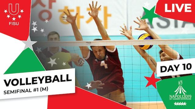 Volleyball | Semifinal #1 (M) |Summer Universiade 2019