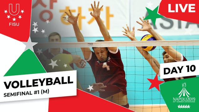 Volleyball | Semifinal #1 (M) | Summe...