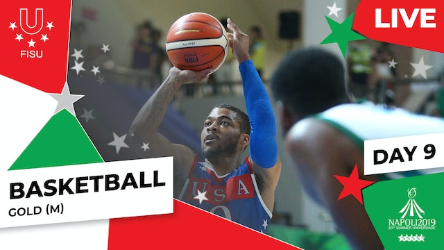 Basketball | Gold (M) | Summer Universiade 2019
